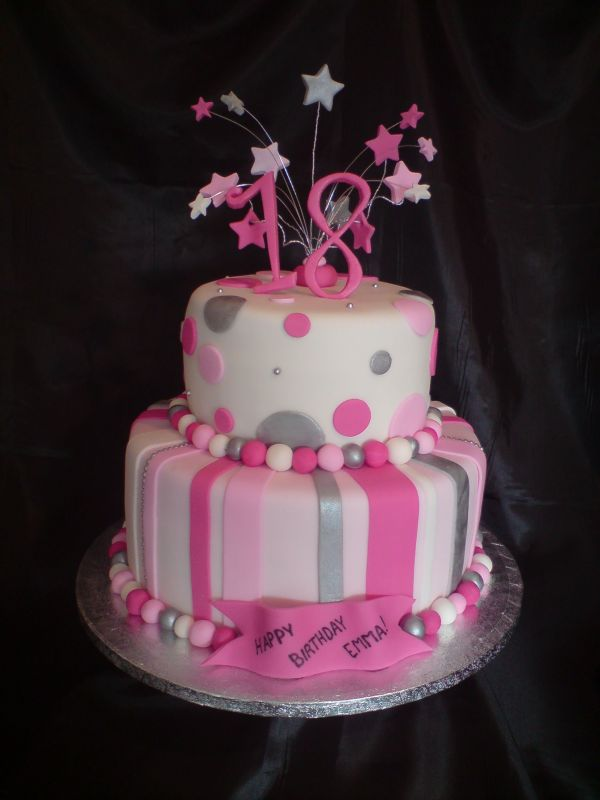 18th birthday cake ideas
