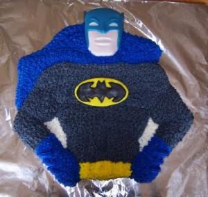 Batman Birthday CupcakesB