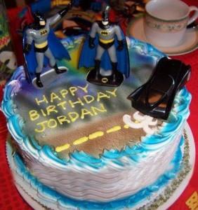 Batman Birthday CupcakesC