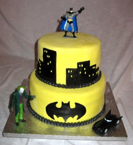 Batman Birthday CupcakesD