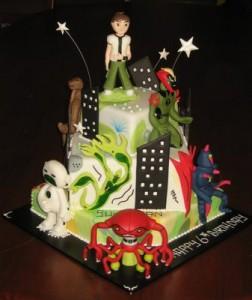 Ben 10 Birthday CupcakesA