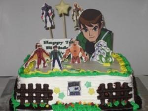 Ben 10 Birthday CupcakesB