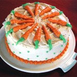Carrot Birthday Cake Design