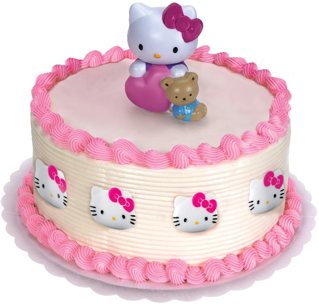 Hello Kitty Birthday Cake Design