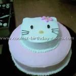 Hello Kitty Birthday Cupcakes
