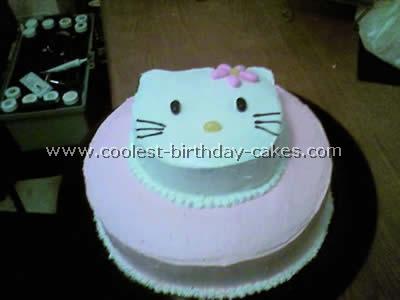 Excellent Hello Kitty Birthday Cake Ideasbest Birthday Cakes Birthday Cards Printable Benkemecafe Filternl