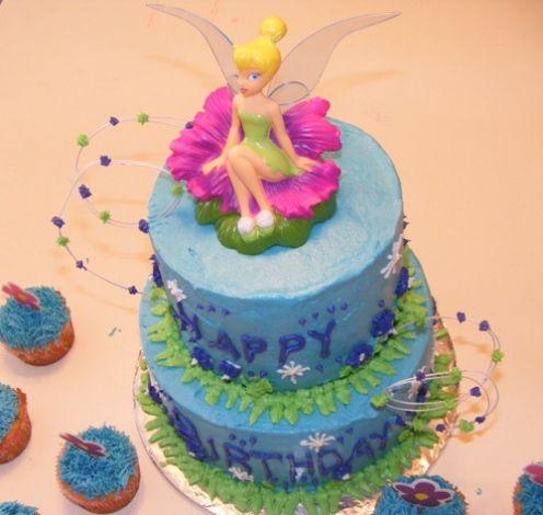 Tinkerbell Birthday Cupcakes