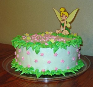 Tinkerbell Birthday Cupcakes3