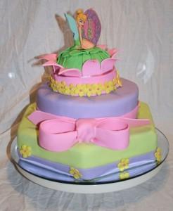 Tinkerbell Birthday Cupcakes4