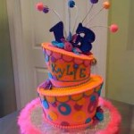 13th Birthday Topsy Turvy Cake