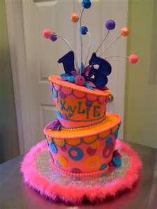 13th Birthday Topsy Turvy Cake