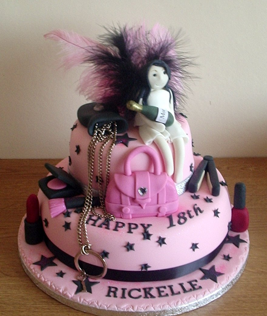 18th Birthday Cakes For Girls