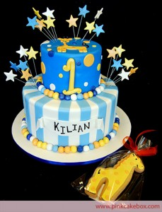 1st Birthday Cake Ideas for a Boy