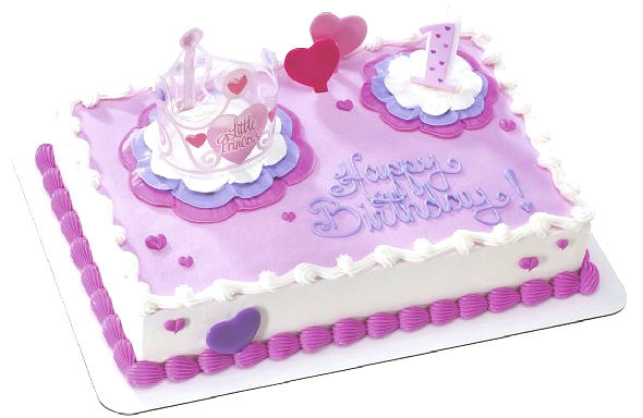 Cake designs for kids girls images for 1st birthday decoration ideas for girls