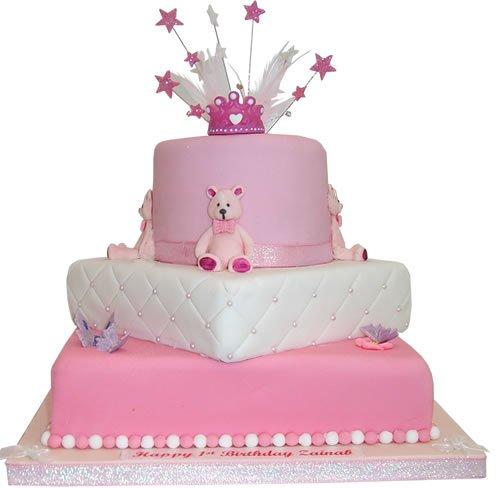 Marvelous 1St Birthday Cake Pictures For Girlsbest Birthday Cakesbest Funny Birthday Cards Online Kookostrdamsfinfo
