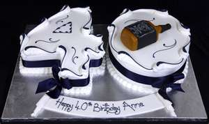 40th Birthday Cake Ideas for Men 40th Birthday Cakes