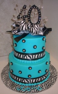 40th Birthday Cakes Ideas