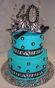 40th Birthday Cakes Ideas