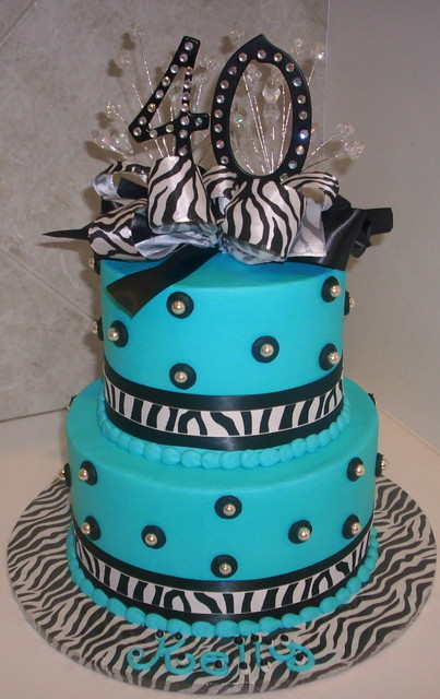 Top 40th Birthday Cakes Pictures