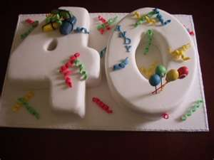 40th Special Birthday Cakes