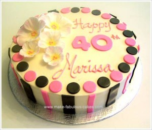 Pictures Of 40th Birthday CakesBest Birthday CakesBest Birthday Cakes