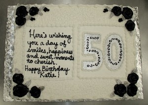 50th Birthday Cake Decoration Ideas