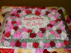 Amazing Girls Birthday Cake