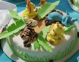 Animal Shaped Cakes