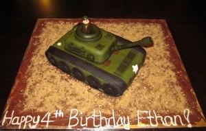 Army Tank Cakes