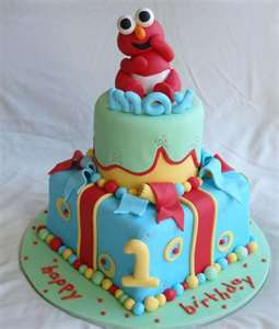 Babe Elmo Birthday Cakes