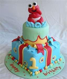 Babe Elmo Birthday Cakes