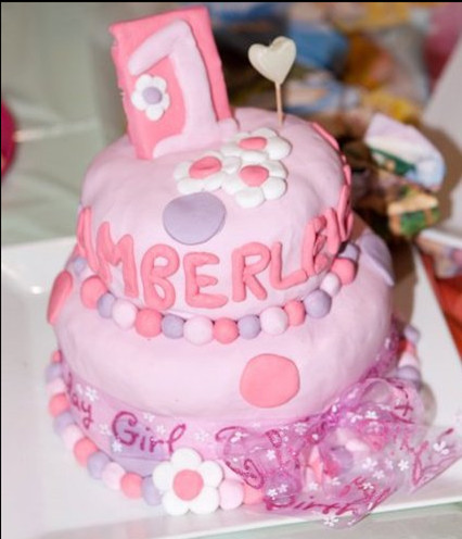 Girl Birthday Cake Ideas on 1st Birthday Cakes For Girls    Baby Girl   S 1st Birthday Cake Ideas