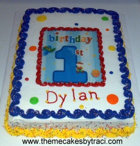 Birthday Cake Ideas for Little Boys