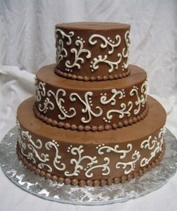 Birthday Cake wedding chocolate cake