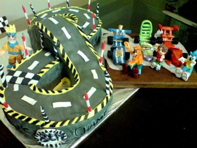 cool cake designs for boys