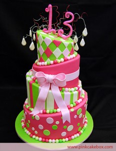 Birthday Party Kids On Cake Ideas For A 13th 231x300 Cakes Girls