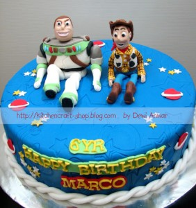 Cartoon Character Birthday Cakes 282x300 Kids Cartoon Birthday Cakes