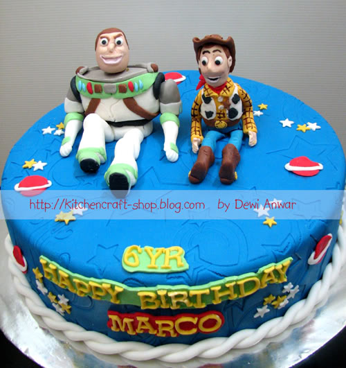 Cartoon Character Birthday Cakes
