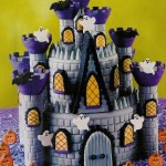 Castle Cakes for Halloween