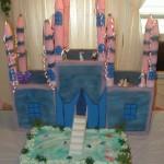 Castle Shaped Wedding Cakes