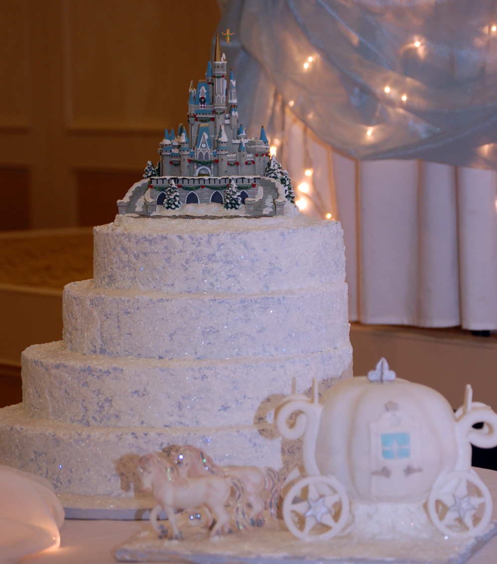 Castle Wedding Cake Toppers