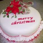 Christmas Birthday Cakes