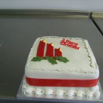 Christmas Birthday Party Invitations and Christmas Birthday Cakes
