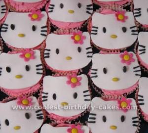 Coolest Hello Kitty Kids Cupcake Ideas