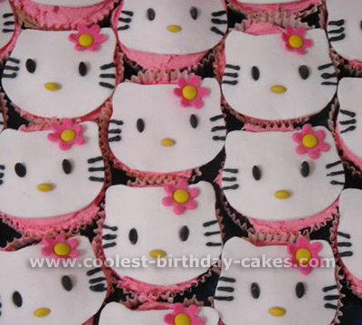 Cupcake Birthday Cakes on Kitty Birthday Cupcakes Coolest Hello Kitty Kids Cupcake Ideas & Cupcake Birthday Cakesideas Supplies Decorating Cupcakes
