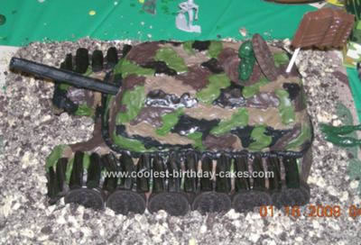 Coolest Homemade Army Cake Ideas