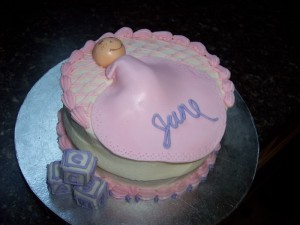 Coolest Homemade Baby Cake Photos