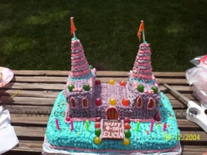 Coolest Homemade Castle Birthday Cake Ideas