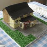 Girl Birthday Cake Castle