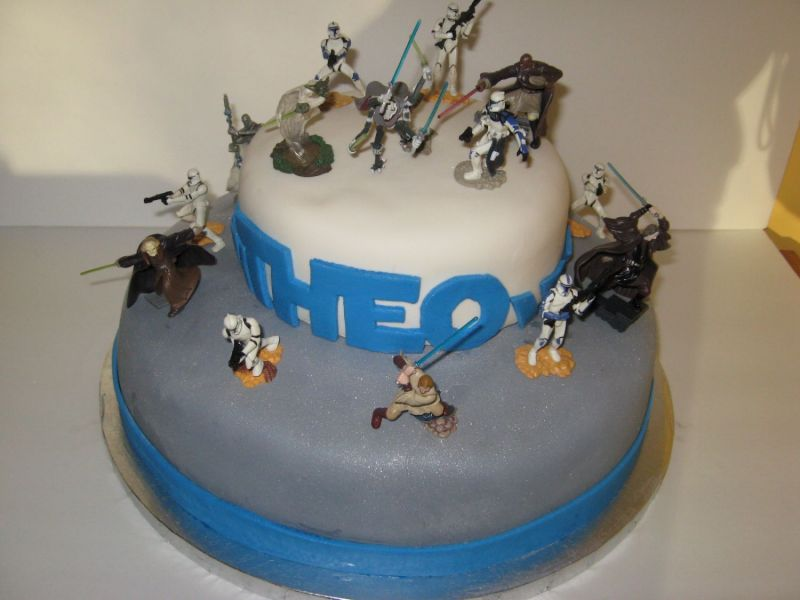 Awesome Coolest Star Wars Cakes Photo Gallerybest Birthday Cakesbest Funny Birthday Cards Online Overcheapnameinfo